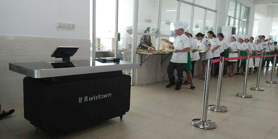 广州公安边防部队高等专科学校餐厅案例