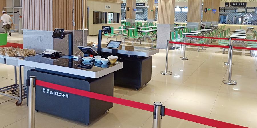重庆邮电大学食堂实景案例