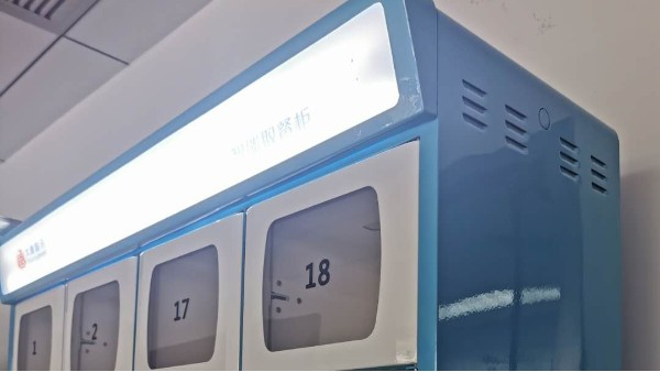 【大唐智讯】智能取餐柜,让顾客无接触吃上热乎饭
